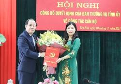 Hội Liên hiệp phụ nữ tỉnh Yên Bái có tân Chủ tịch