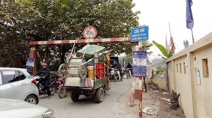 Hà Nội phê duyệt chỉ giới tuyến đường qua sông Nhuệ tại quận Nam Từ Liêm