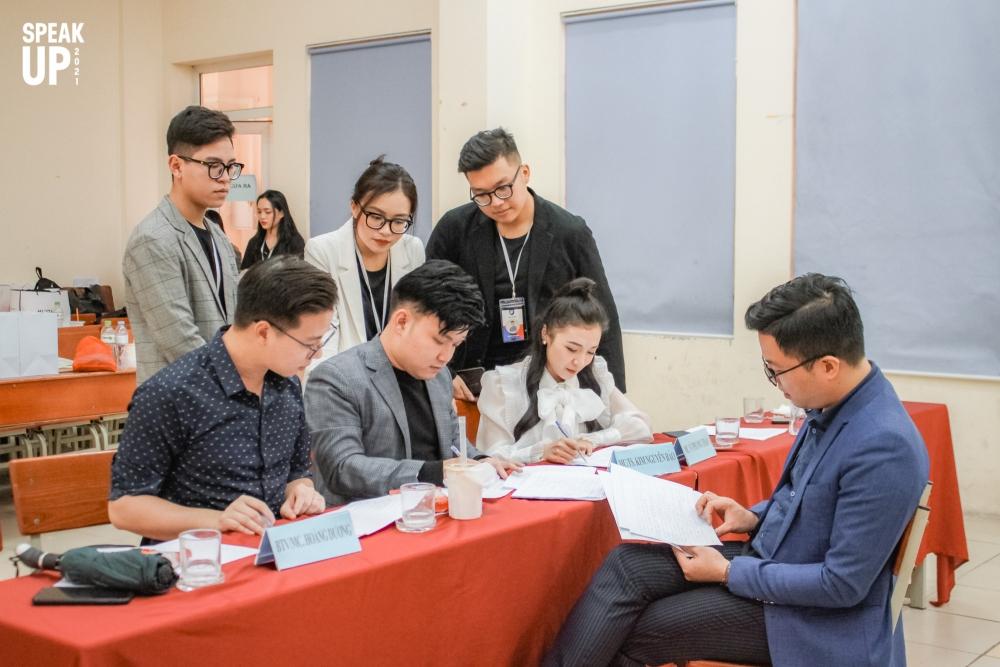 Sơ khảo cuộc thi MC SPEAK UP 2021 dành cho sinh viên