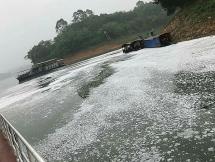 Xác định thủ phạm gây ra hiện tượng bọt trắng xoá trên hồ Thác Bà