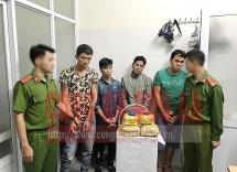 Công an huyện Mai Sơn bắt các đối tượng thu gần 6 kg ma túy đá