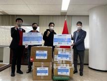 Du học sinh Việt Nam tại Hàn Quốc cùng hỗ trợ nhau phòng, chống dịch Covid-19