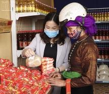 Khai trương siêu thị hạnh phúc 0 đồng tại Yên Bái mùa Covid-19