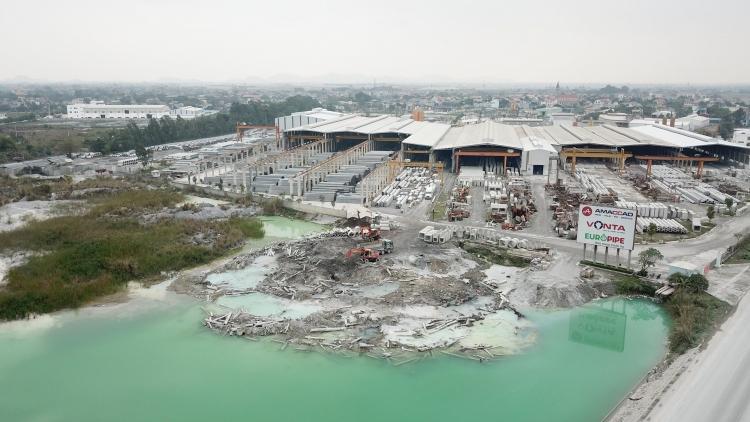 Xử phạt Công ty CP Amaccao ở Hà Nam 270 triệu đồng do vi phạm về môi trường