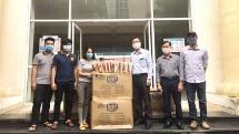 Tuổi trẻ Thủ đô hỗ trợ lưu học sinh Lào trong mùa dịch