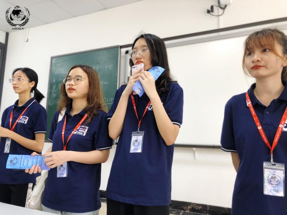 Hội nghị mô phỏng Liên Hợp Quốc của giới trẻ tuyển thành viên