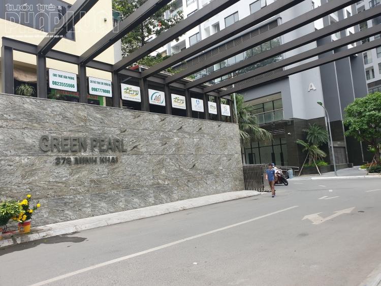 Công trình sai phạm Green Pearl 378 Minh Khai vẫn ngang nhiên thi công bất chấp lệnh đình chỉ