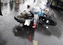 Yên Bái: Xe máy va chạm với ô tô khiến một người tử vong tại chỗ