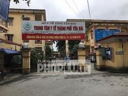 Kỷ luật cảnh cáo với Giám đốc Trung tâm y tế TP Yên Bái