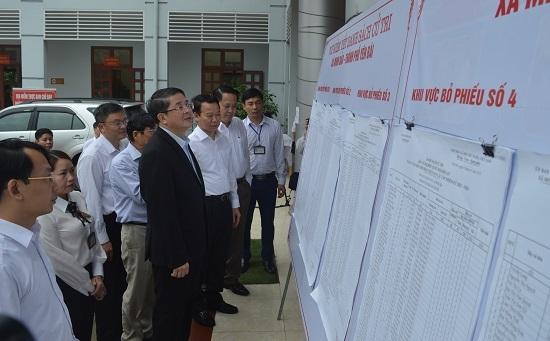 Đồng chí Đỗ Đức Duy tham gia ứng cử đại biểu HĐND tỉnh Yên Bái tại TP Yên Bái