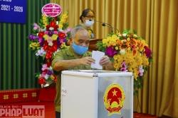 Nhiều địa phương của tỉnh Yên Bái có 100% cử tri đi bỏ phiếu