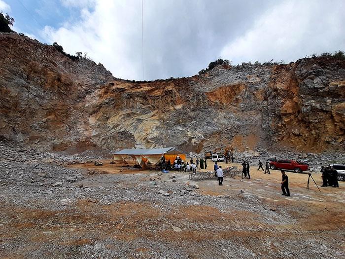 Ba người tử vong khi đi khai thác đá tại Điện Biên