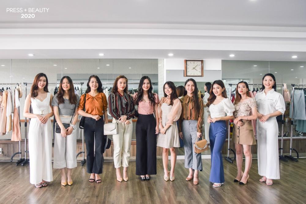 Nhan sắc Top 10 người đẹp trước đêm Chung kết cuộc thi Press Beauty 2020