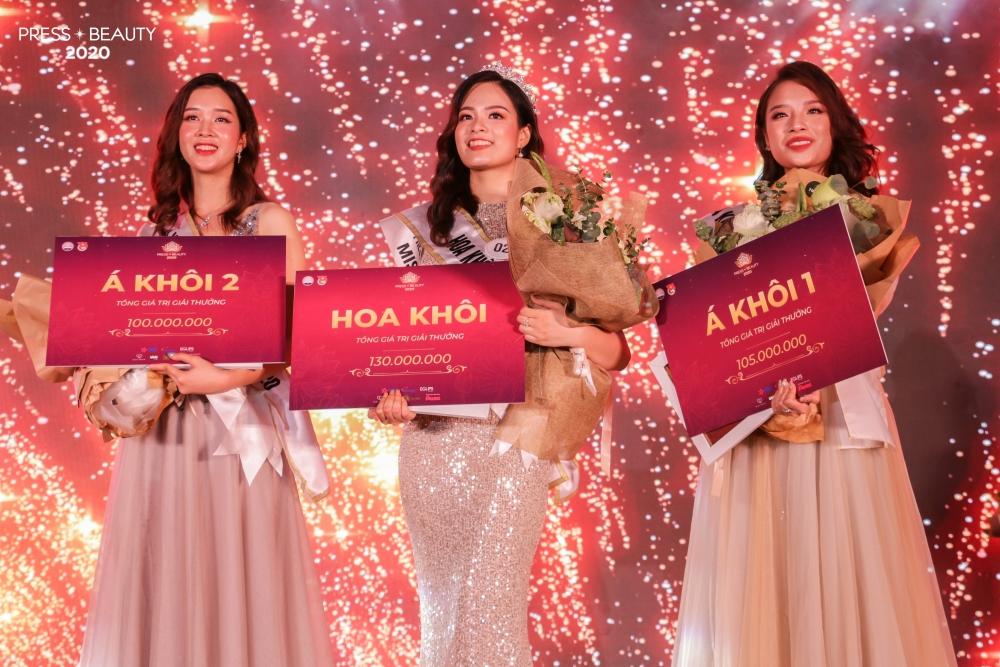 Nhan sắc ba cô gái xuất sắc nhất đêm chung kết Press Beauty 2020