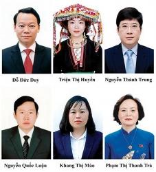 6 đại biểu Quốc hội khóa XV tỉnh Yên Bái trúng cử là ai?