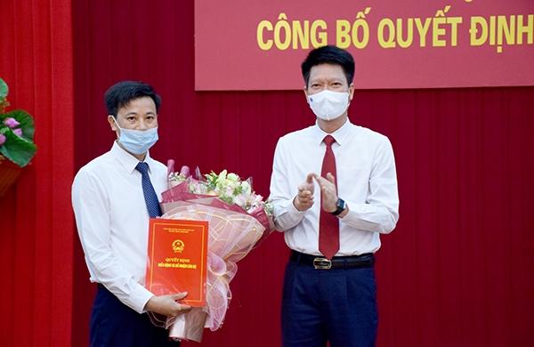 Ông Lê Minh Đức được bổ nhiệm chức vụ Chánh Văn phòng UBND tỉnh Yên Bái