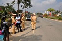 Kiểm tra xử lý các phương tiện vi phạm an toàn giao thông trên địa bàn tỉnh Yên Bái