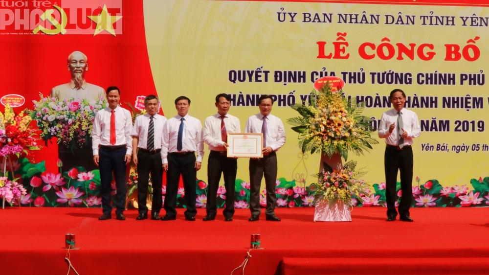 thanh pho yen bai duoc thu tuong cong nhan can dich nong thon moi