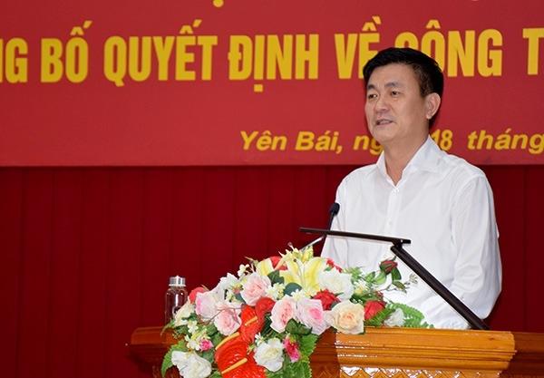 Phó Chủ tịch UBND tỉnh Yên Bái được điều động giữ chức Quyền Vụ trưởng tại Bộ GTVT