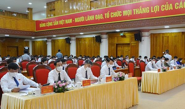 Kỳ họp thứ 2 HĐND tỉnh Yên Bái: Quyết tâm hoàn thành chỉ tiêu, nhiệm vụ năm 2021