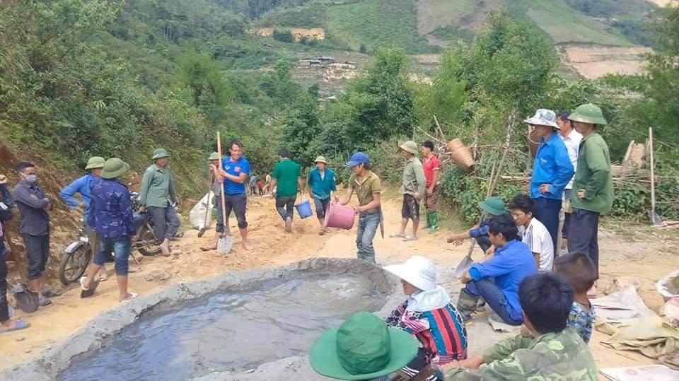Tuổi trẻ Yên Bái đồng loạt tham gia tình nguyện chung tay xây dựng nông thôn mới