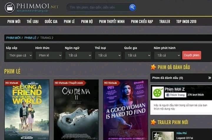 Nhóm lập web phim lậu Phimmoi.net phải đối diện với mức án nào?