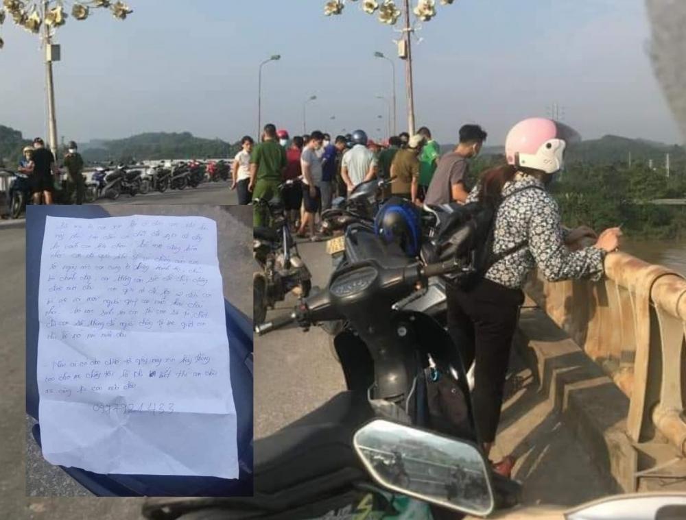 Khu vực cầu Văn Phú, Yên Bái nơi cô gái mất tích để lại lá thư tuyệt mệnh