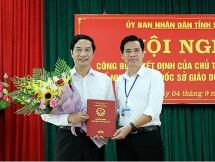 Sở GD&ĐT tỉnh Sơn La có tân Giám đốc trước thềm năm học mới