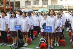 Trường CĐ Công thương HN và THPT Hoàng Mai khai giảng năm học mới 2020-2021