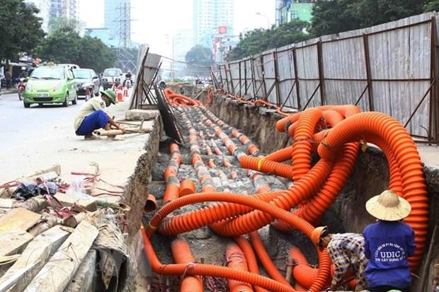 Các dự án ở Hà Nội phải xây dựng đường dây, đường ống điện, cáp dùng chung