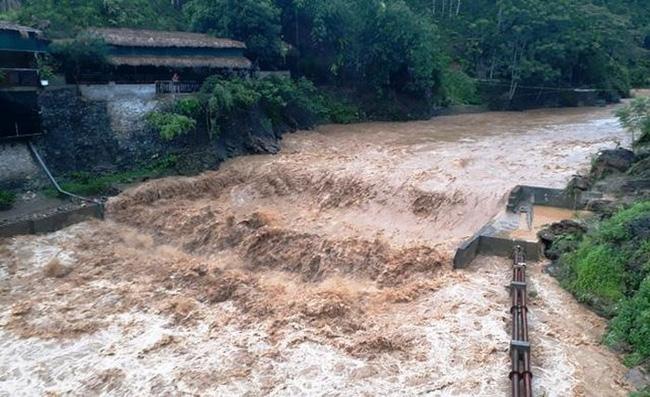 Lào Cai: 2 ngôi nhà bị hư hỏng, lúa, hoa màu thiệt hại vì mưa lớn