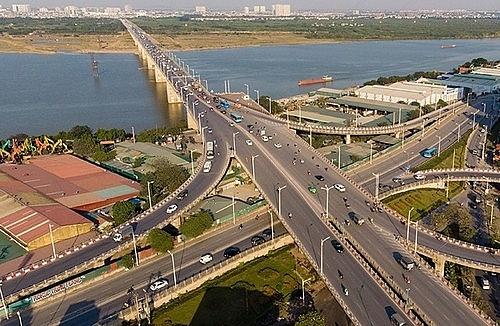 Cầu Vĩnh Tuy giai đoạn hai sẽ có quy mô, hình dáng giống cầu thứ nhất.