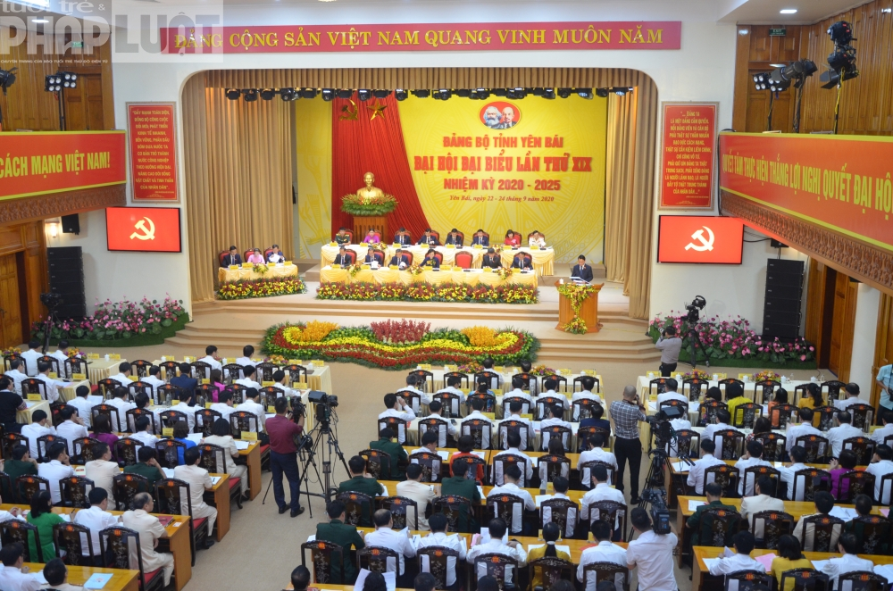 Phiên trù bị Đại hội Đại biểu Đảng bộ tỉnh Yên Bái nhiệm kỳ 2020 - 2025.
