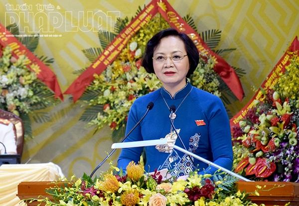 Nữ Bộ trưởng Bộ Nội vụ đầu tiên kể từ khi thành lập ngành