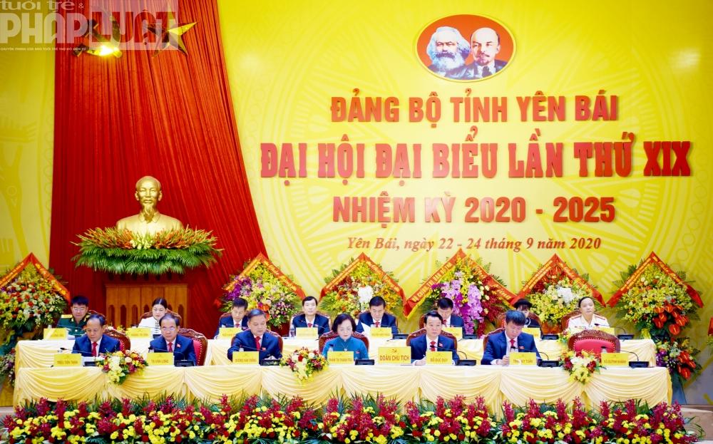 Thường trực Ban Bí thư nhấn mạnh Đại hội Đảng bộ tỉnh Yên Bái tập trung 6 vấn đề chính