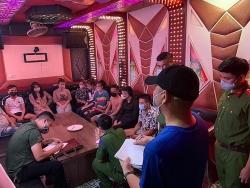Bắt nhóm thanh niên tụ tập sử dụng ma túy tại quán karaoke