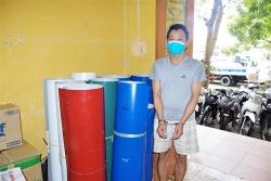 Bắt thủ kho cửa hàng Công ty CP Tập đoàn Hoa Sen trộm cắp tài sản