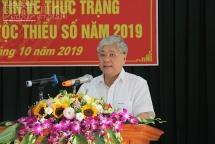 Bộ trưởng Đỗ Văn Chiến phát động lễ ra quân điều tra thực trạng KTXH của 53 dân tộc thiểu số