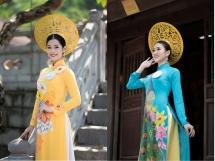 top 25 nguoi dep du lich non nuoc cao bang khoe dang goi cam voi ao dai
