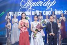 Hoa hậu Lương Thùy Linh rạng ngời trong lần đầu tiên làm ban giám khảo cuộc thi người đẹp