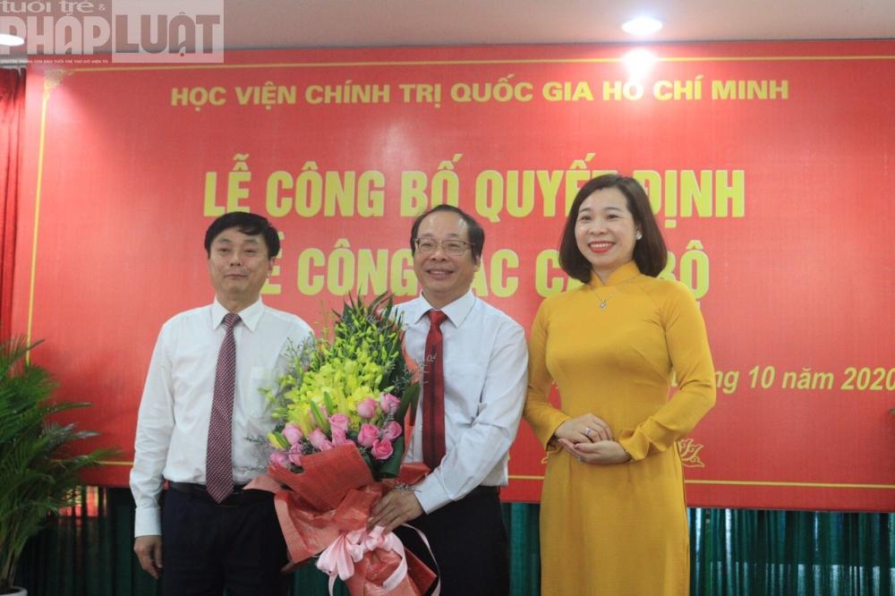 PSG.TS Lưu Văn An được bổ nhiệm Quyền Giám đốc Học viện Báo chí và Tuyên truyền