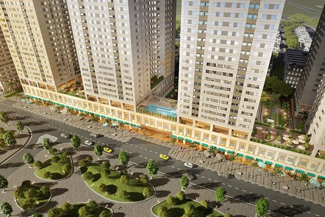 Giá nhà ở phân khúc bình dân tại Hà Nội tăng nhẹ. Ảnh minh họa