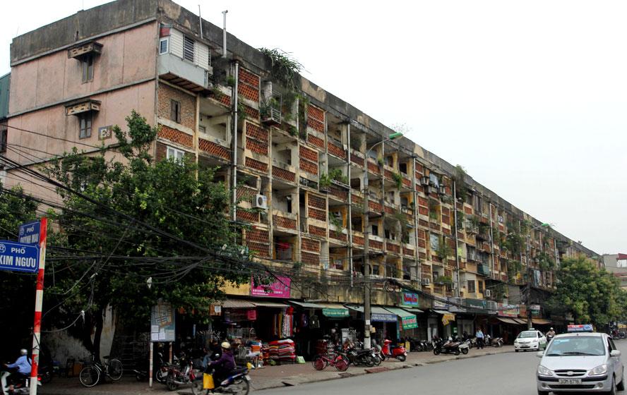 Cải tạo chung cư cũ quá chậm: Sửa quy định để gỡ khó