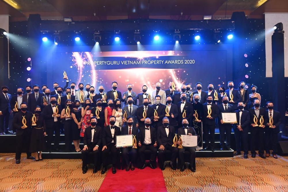 Giải thưởng BĐS Việt Nam PropertyGuru 2020 tôn vinh các nhà phát triển nổi bật nhất.