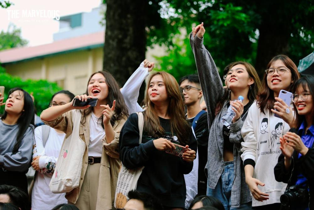 Cháy hết mình với sự kiện chào đón tân sinh viên Học viện Báo chí và Tuyên truyền