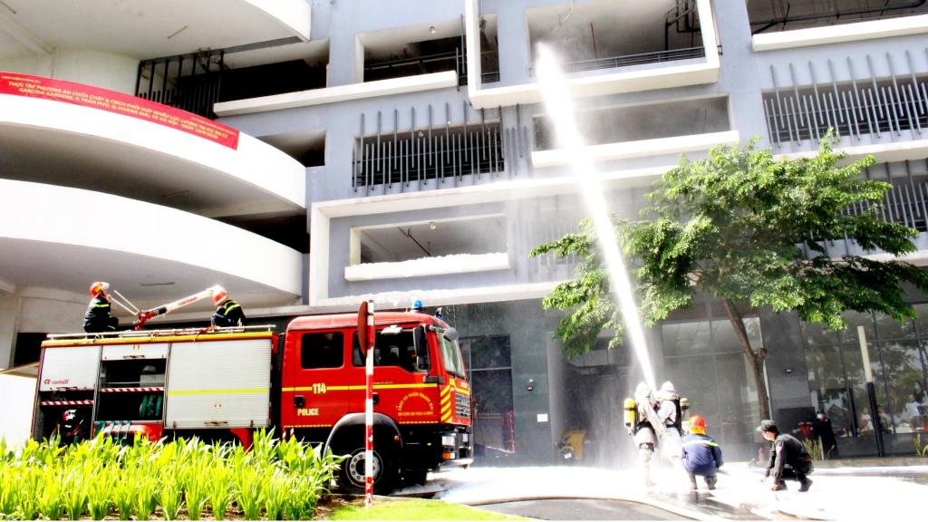 Xây dựng phong trào toàn dân phòng cháy, chữa cháy gắn liền với phát triển kinh tế, xã hội