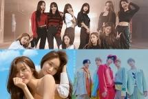 Đường đua Kpop tháng 11 nhộn nhịp hơn bao giờ hết trước sự trở lại của nhiều ca sĩ, nhóm nhạc