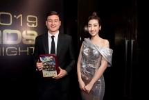 Hoa hậu Đỗ Mỹ Linh chia sẻ cảm xúc khi trao giải Đội hình 11 cầu thủ hay nhất Đông Nam Á