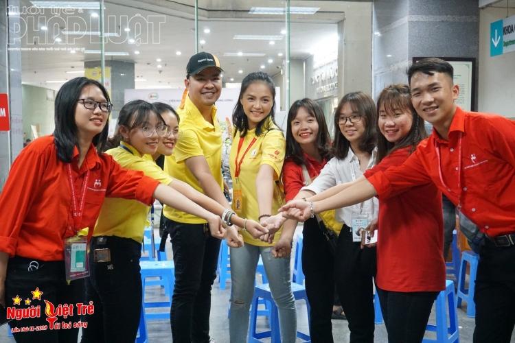 Diễn viên Thu Quỳnh đồng hành cùng Người Việt trẻ hiến máu nhân đạo