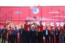 1.200 hội viên, thanh niên tỉnh Điện Biên xếp hình Tổ quốc